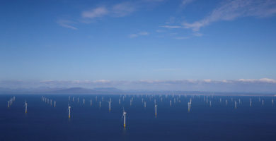 ¿Sabes cuál es el parque eólico marino más grande del mundo?