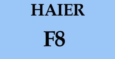 Error F8 Fallo del motor ventilador DC Unidad Exterior en Haier