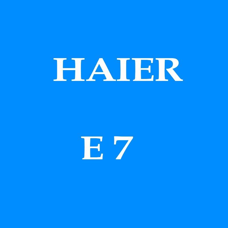Error E7 en HAIER